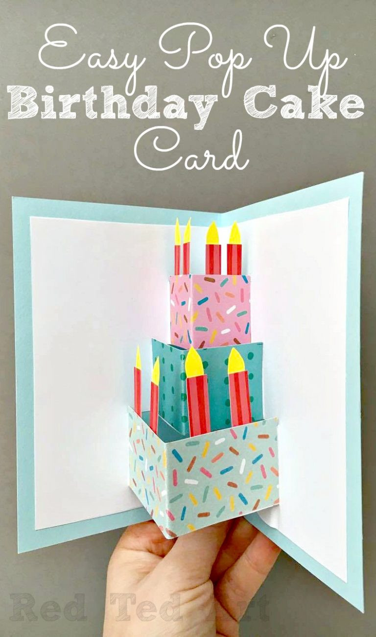 Birthday Cards Diy  50 DIY Birthday Cards For Everyone In Your Life