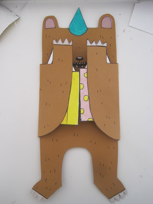 Birthday Cards Diy  DIY Birthday Bear Card