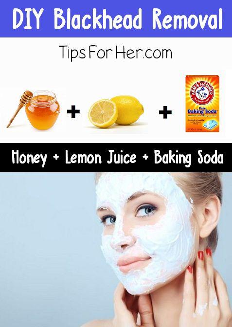 Blackhead Maske Diy  15 Beauty Tips with Honey Pretty Designs