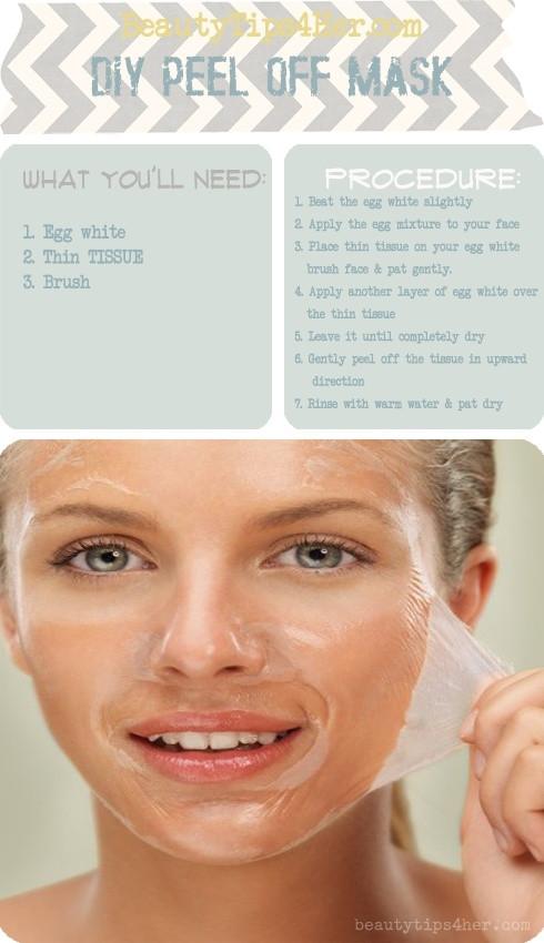 Blackhead Maske Diy  DIY blackhead removal peel off mask that actually works Yay