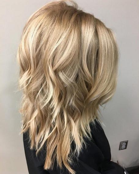 Blonde Frisuren 2019  Frisuren 2019 lange haare