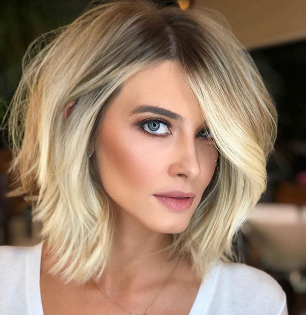 Blonde Frisuren 2019  60 neue kurze blonde Frisuren 2019 — Frisur Inspiration