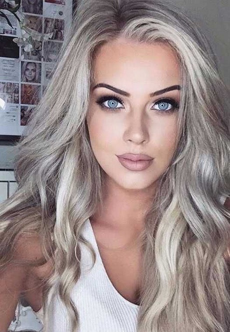 Blonde Frisuren 2019  Frisuren haarfarben 2018