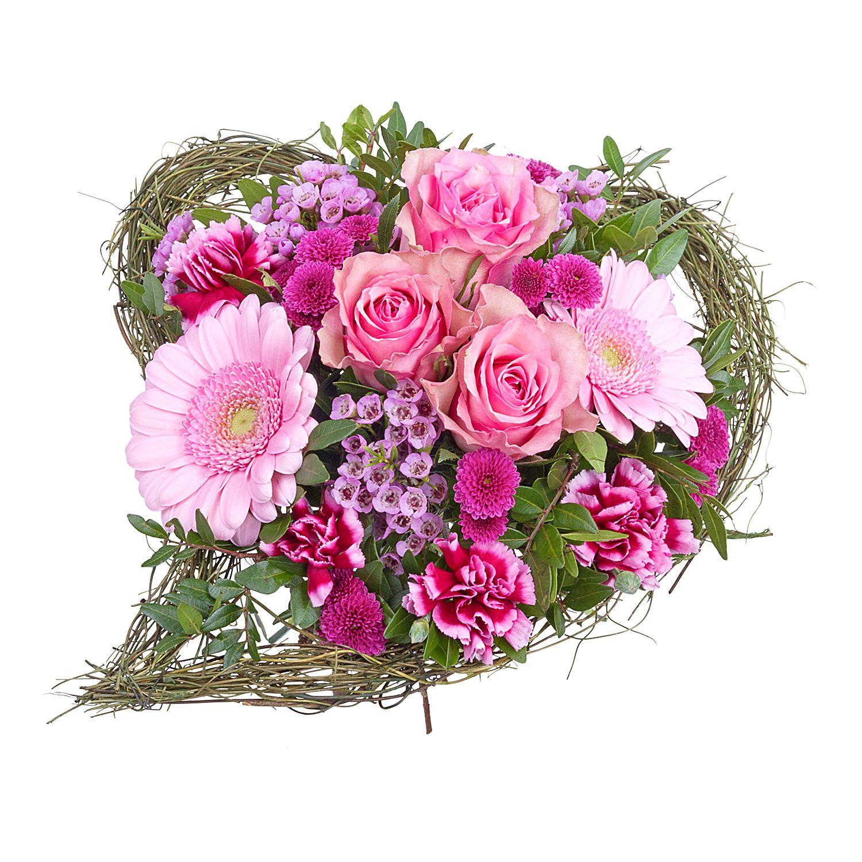 Blumen Für Geburtstag  Blumenstrauß Sehnsucht und GRATIS Kultvase