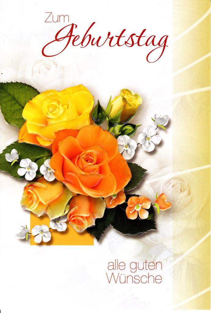 Blumen Für Geburtstag  Geburtstag Blumen Lauretta Karten