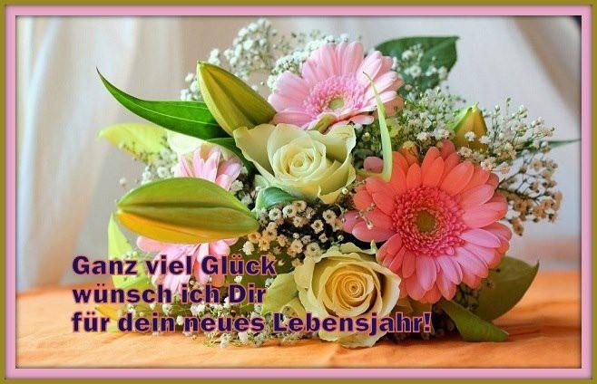 Blumen Für Geburtstag  70 Geburtstagsbilder von Blumen Alles Liebe zum Geburtstag