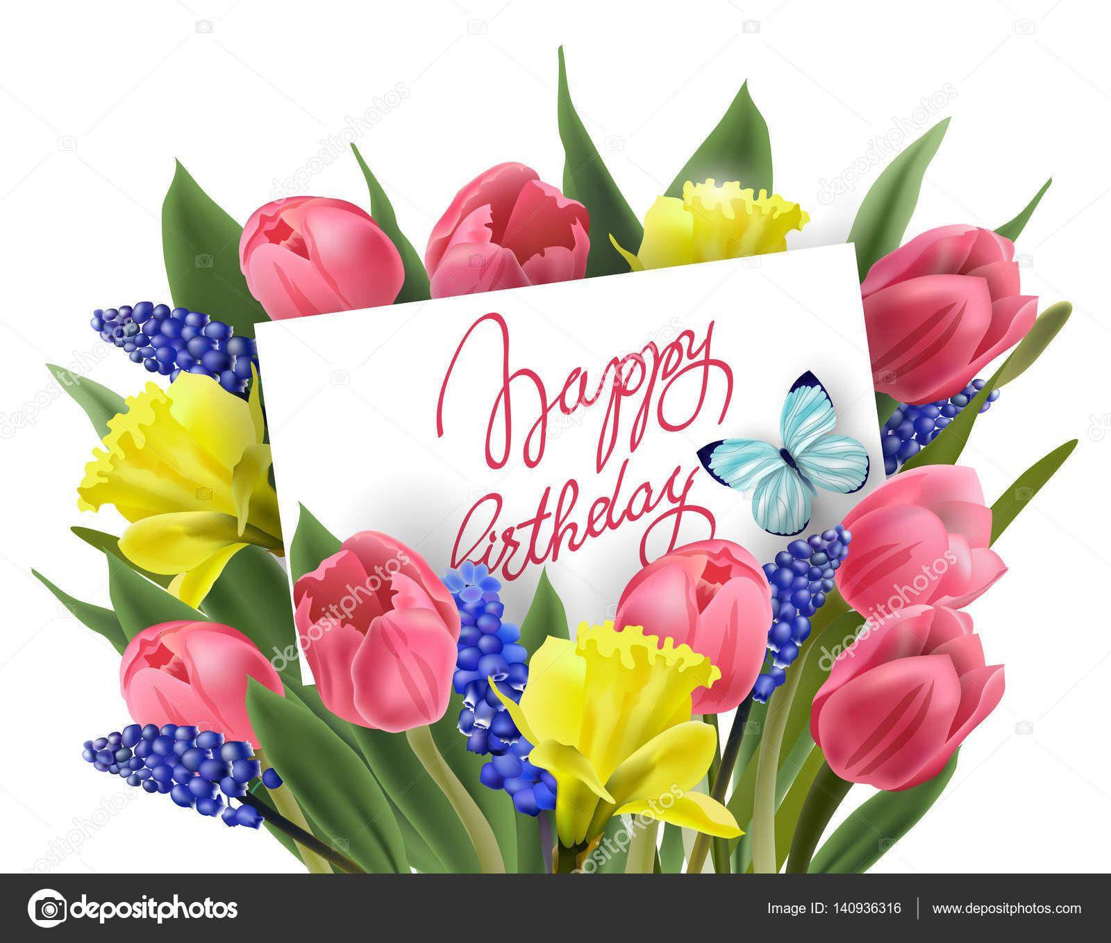 Blumen Zum Geburtstag  Bilder Alles Gute Zum Geburtstag Blumen