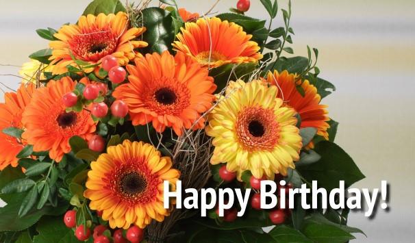 Blumen Zum Geburtstag  Blumen zum Geburtstag verschicken