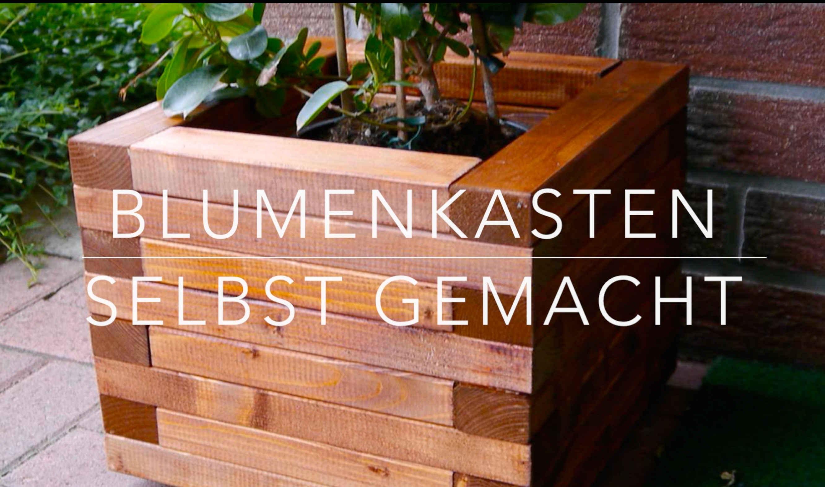 Blumenkasten Diy  DIY Blumenkasten aus Holz Kinderleicht bauen