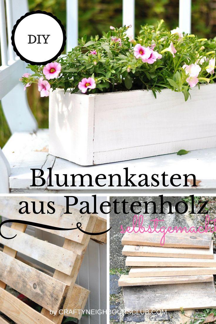 Blumenkasten Diy  250 besten Unser Blog