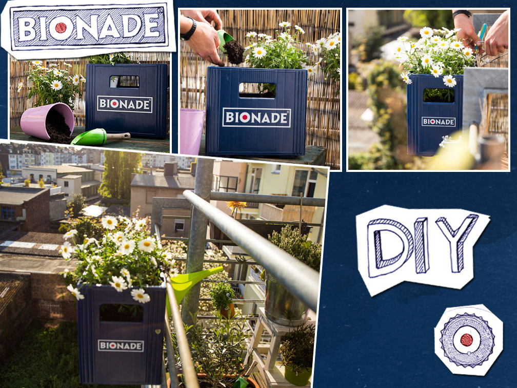 Blumenkasten Diy  Do It Yourself Tipps – Bionade