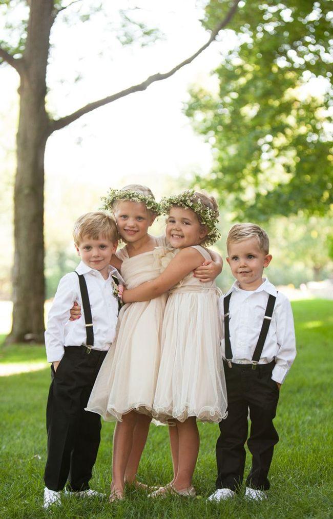 Blumenmädchen Hochzeit  Blumenmädchen und Ringträger