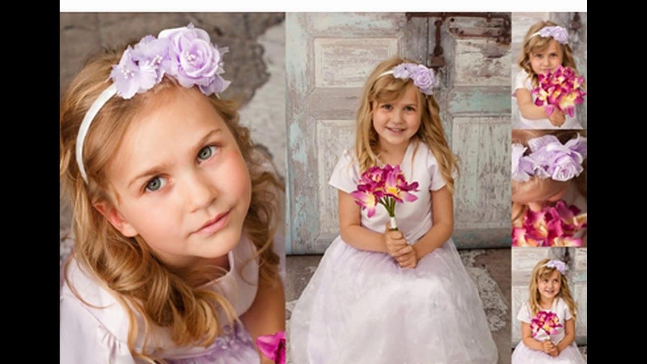 Blumenmädchen Hochzeit  Blumenmädchen hochzeit frisuren ideen für schöne frauen