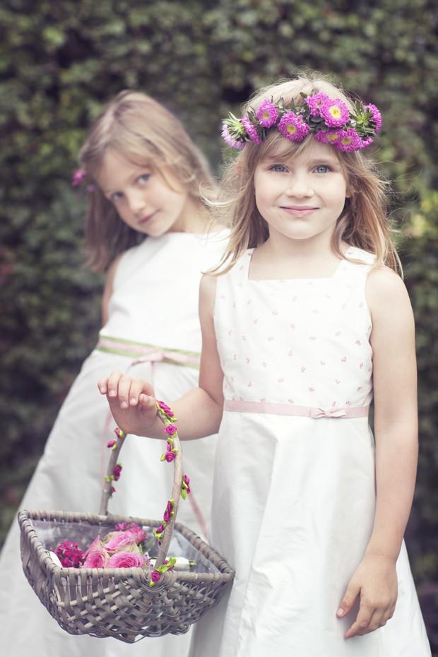 Blumenmädchen Hochzeit  Heiraten mit Kind Blumenmädchen und schnieke Jungs