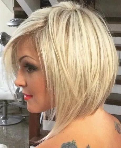 Bob Frisuren 2019 Blond  Blond frisuren 2018