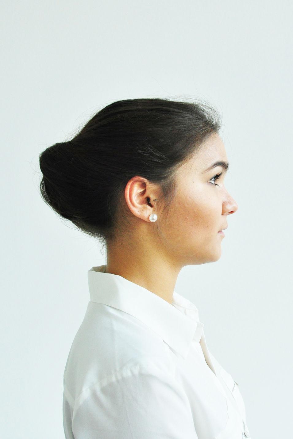 Business Frisuren  Frisuren zum Selbermachen Business Knoten GLAMOUR