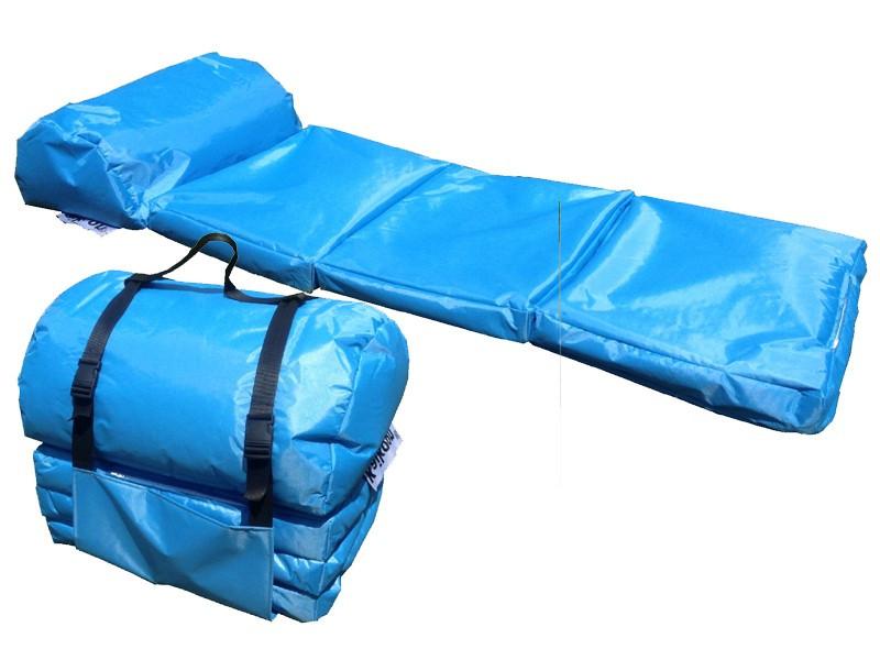 Camping Matratze  Outdoor Matratze EASY hellblau Lounge Matratzen Schlafsack