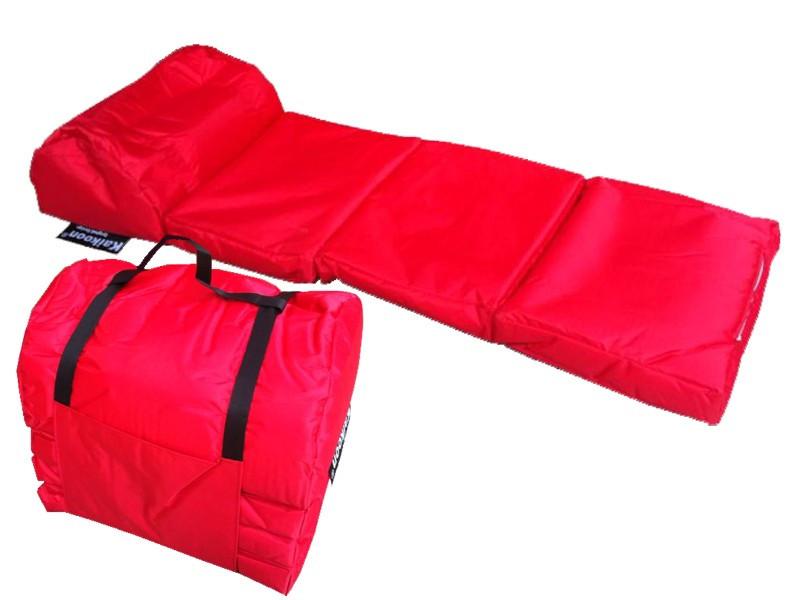 Camping Matratze  Outdoor Matratze EASY rot Lounge Matratzen Schlafsack
