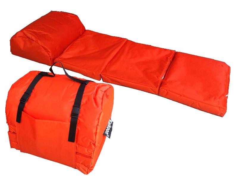 Camping Matratze  Outdoor Matratze EASY orange Lounge Matratzen Schlafsack