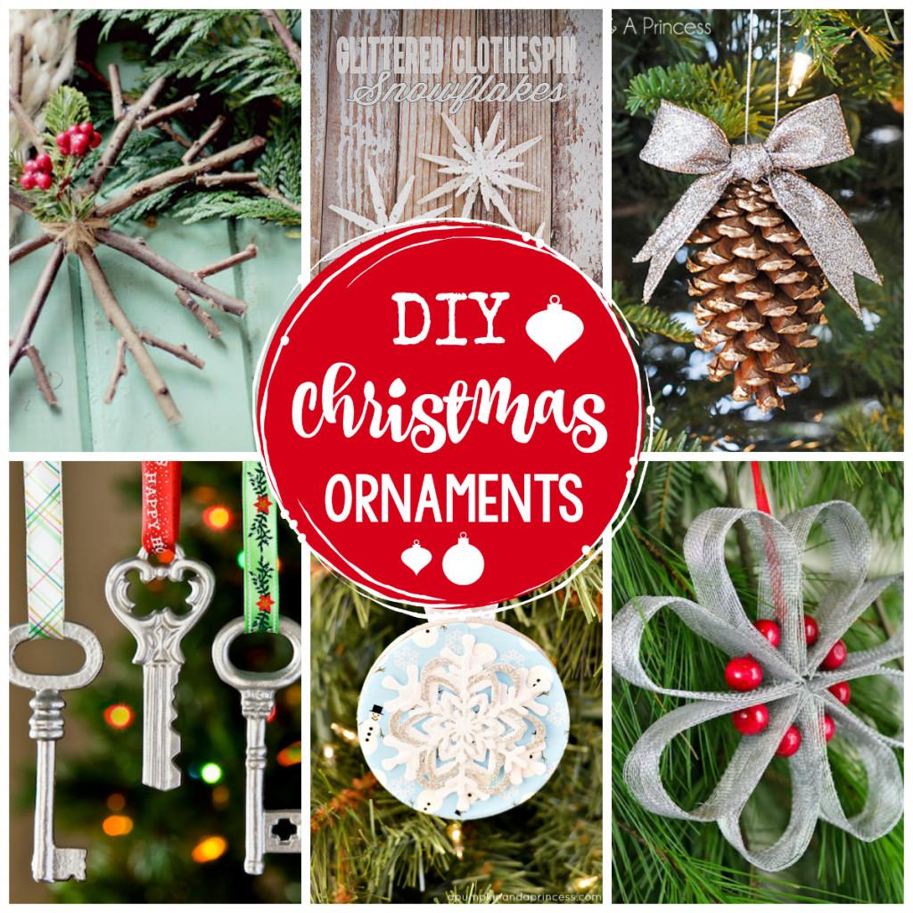 Christmas Diy  25 DIY Christmas Ornaments to Make This Year Crazy
