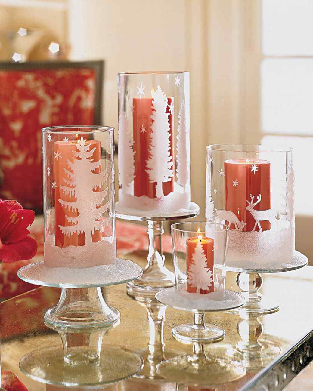 Christmas Diy  40 Creative DIY Holiday Candles Projects