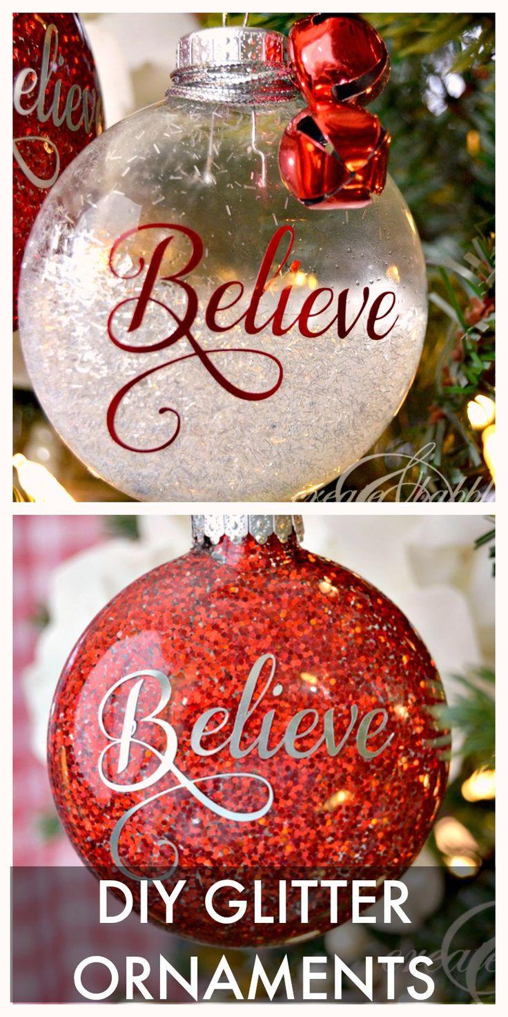 Christmas Diy  25 DIY Christmas Ornaments Ideas The Xerxes