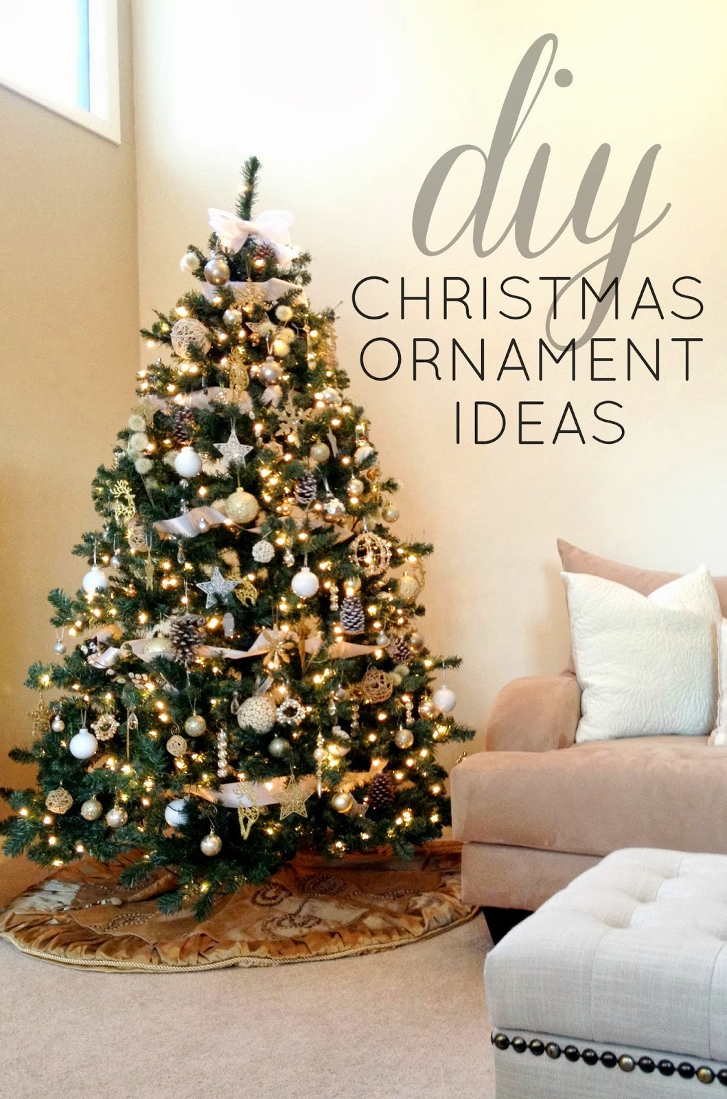 Christmas Diy  Christmas Tree Decorations Ideas and Tips To Decorate It