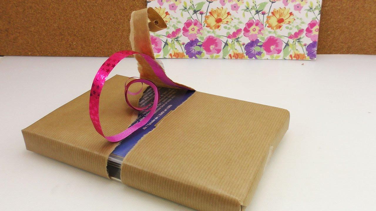 Coole Diy Ideen  Geschenke einpacken 3 coole Ideen
