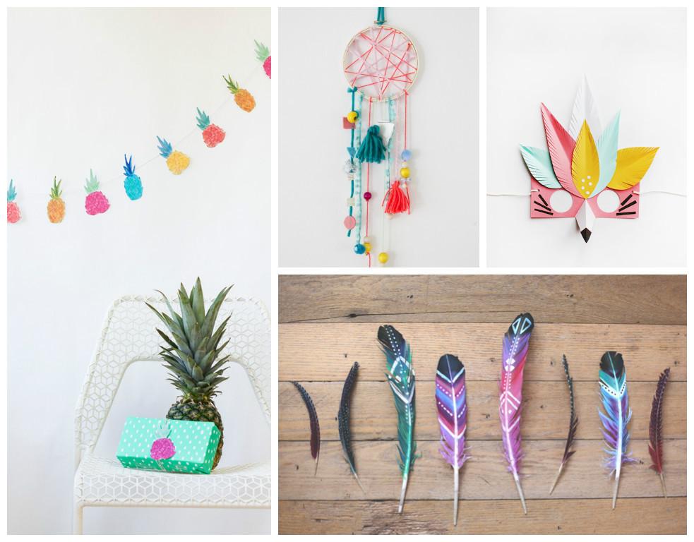 Coole Diy Ideen  9 DIY Ideen für eine coole Kinderparty Littleyears