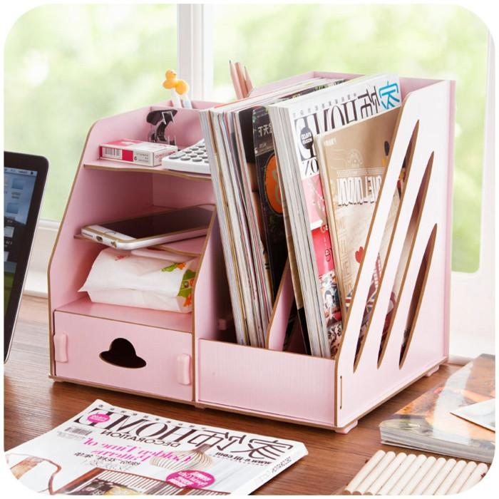 Coole Diy Ideen  Schreibtisch selber bauen 106 originelle Vorschläge