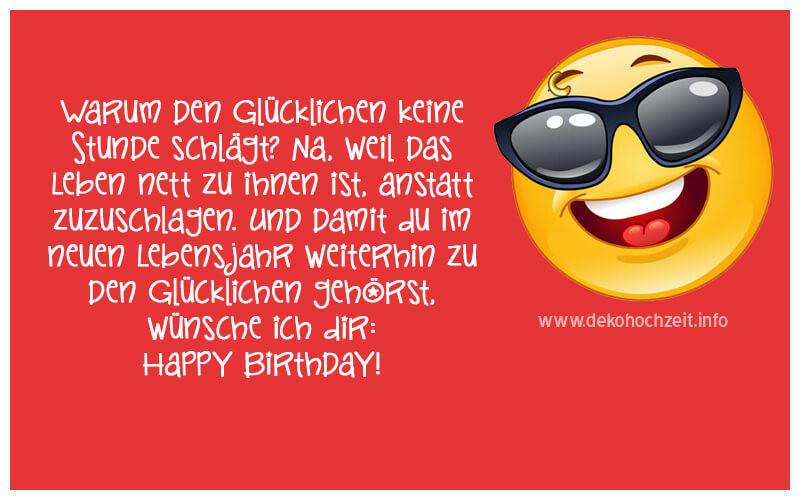 Coole Geburtstagswünsche  Coole Geburtstagsgrüsse