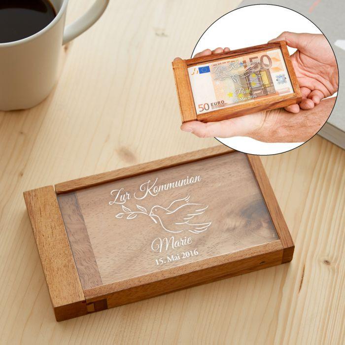 Coole Geschenke Zur Kommunion  Magische Geldgeschenkbox zur Kommunion witziges
