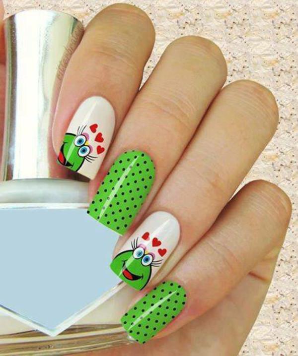 Coole Nageldesign  Nageldesign Muster wie Sie Fingernägel Designs selber machen