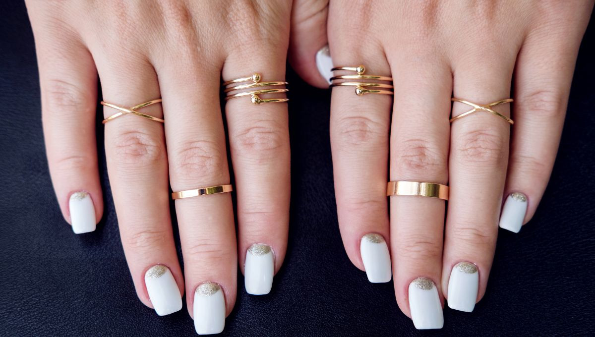 Coole Nageldesigns Kurze Nägel  Cuticle Nails Dieser Nageltrend ist perfekt für kurze