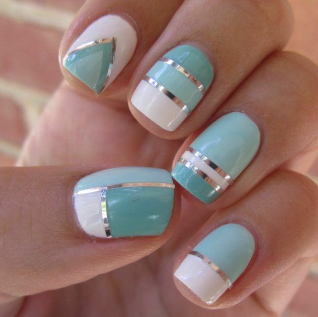 Coole Nageldesigns Kurze Nägel  25 schöne kurze Nägel Ideen auf Pinterest