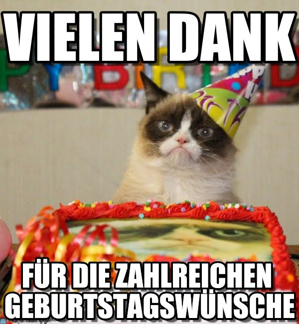 Danke Für Die Geburtstagswünsche Facebook  Danke Vielen Dank on Memegen
