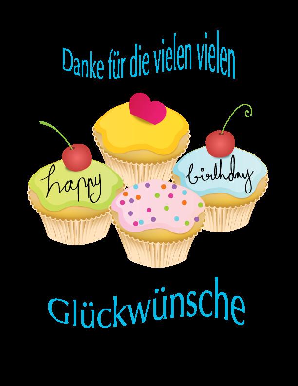 Danke Für Geburtstagsglückwünsche  Geburtstag Dankeschön