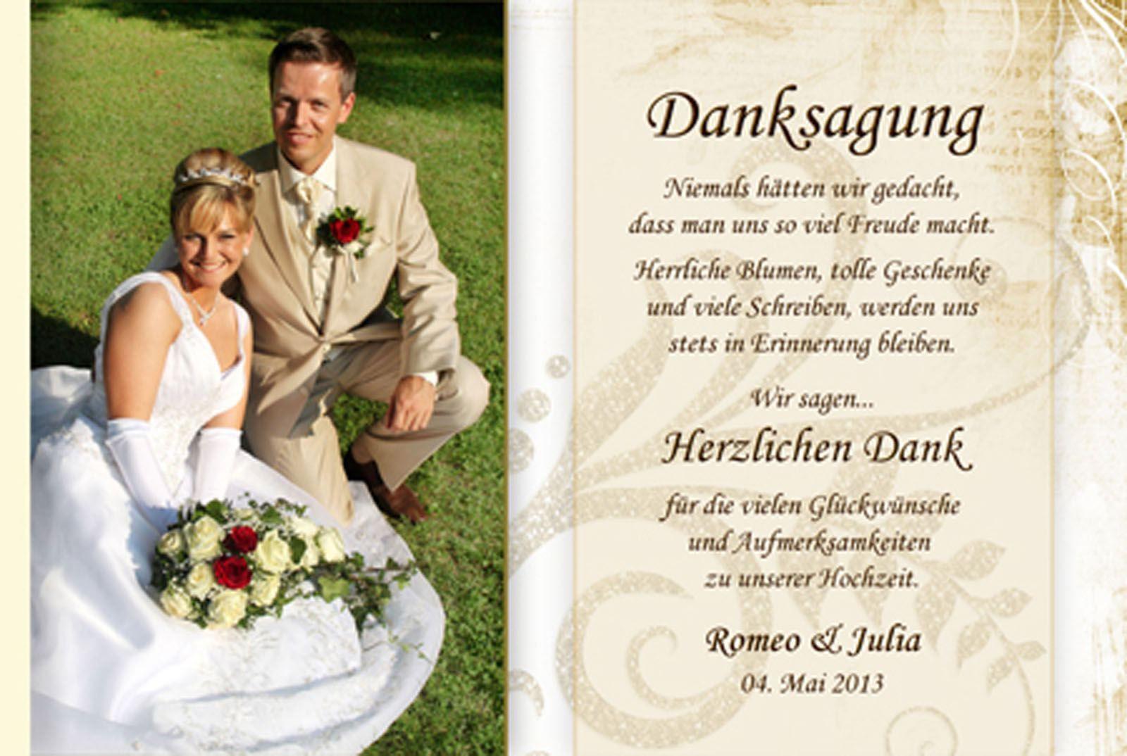 Danksagung Hochzeit Textvorschläge Modern  Dankeskarte Hochzeit Text Danksagung Hochzeit Text Danksagung Karten Danksagung Karten