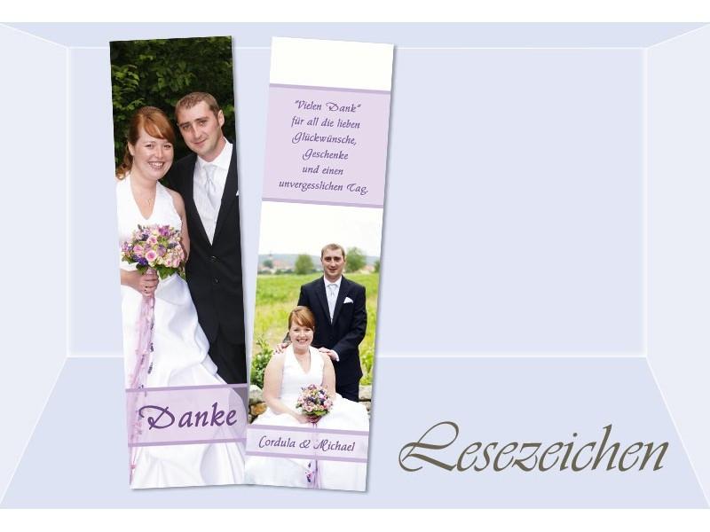 Danksagung Hochzeit Textvorschläge Modern  Danksagung Hochzeit Lesezeichen Karte Danksagungskarte