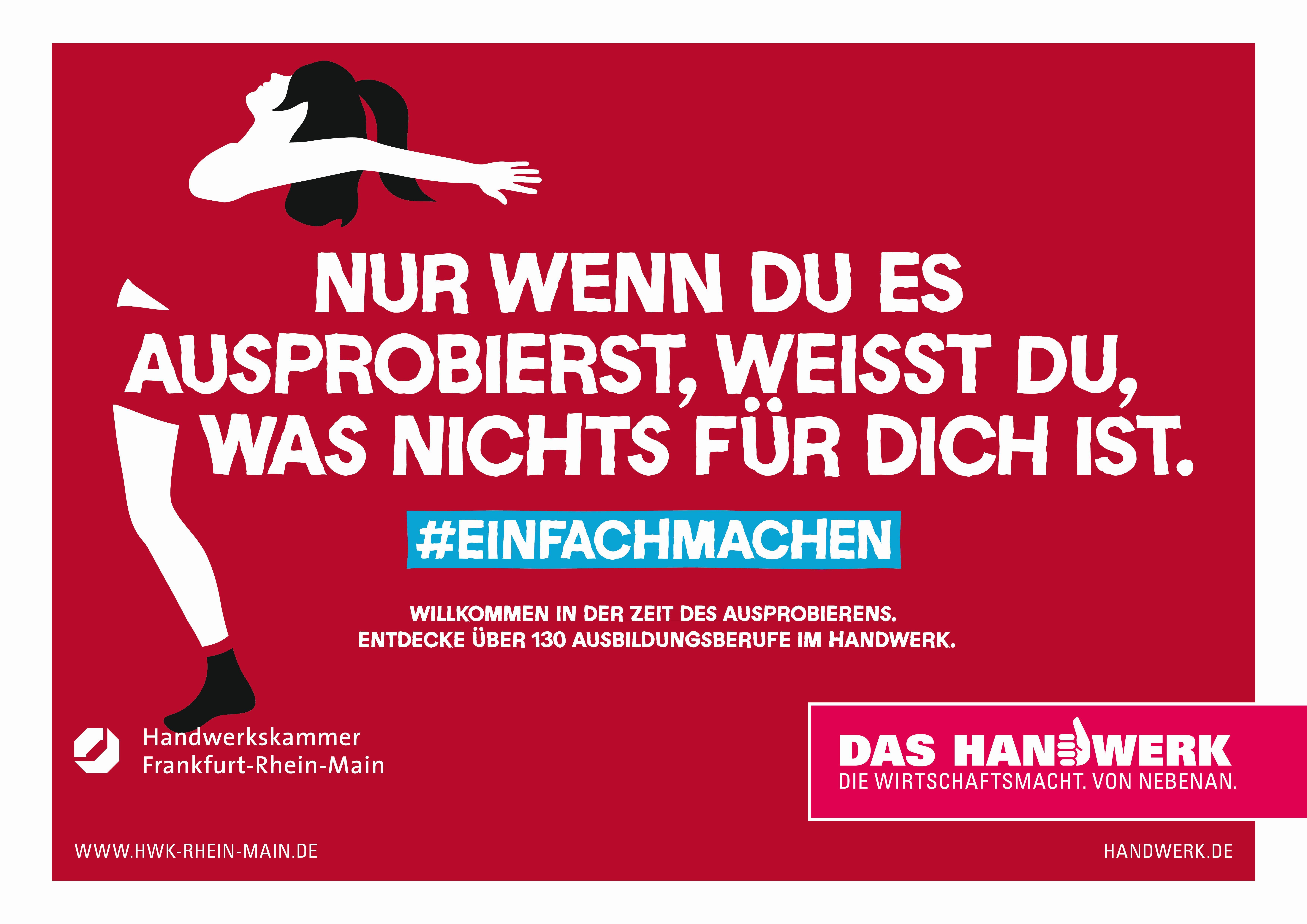 """Das Handwerk De  Info zur Kampagne """"Das Handwerk – Wirtschaftsmacht"""""""