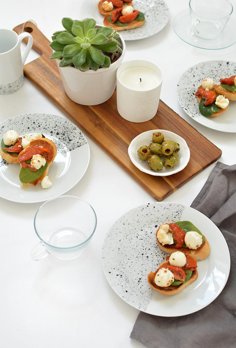 Decken Mit Ärmeln  Tisch decken mit DIY Geschirr Set fresHouse