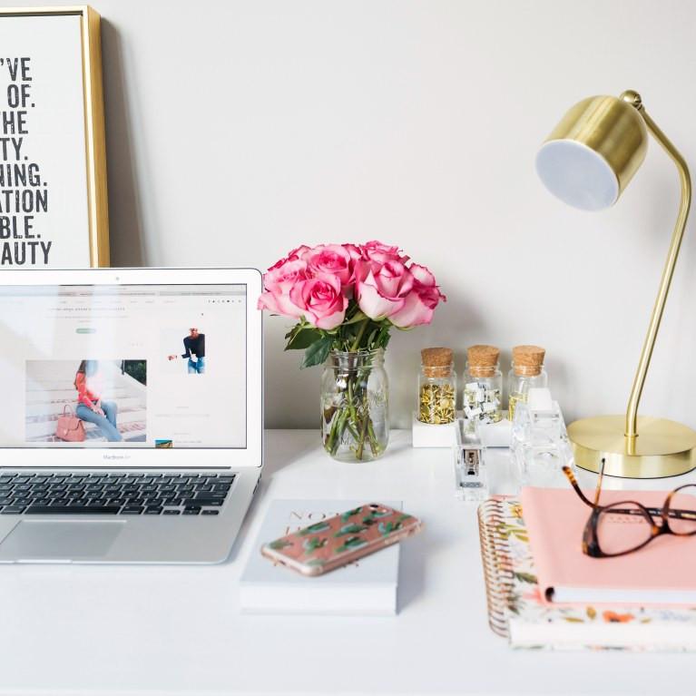 Dekoideen Diy  5 einfache DIY Deko Ideen fürs Büro & den Schreibtisch