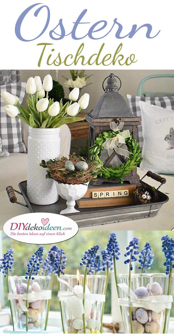 Dekoideen Diy  DIY Dekoideen für hübsche und farbenfrohe Oster Tischdeko