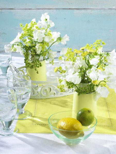 Dekoideen Diy  DIY Deko Ideen mit frischer Zitrone