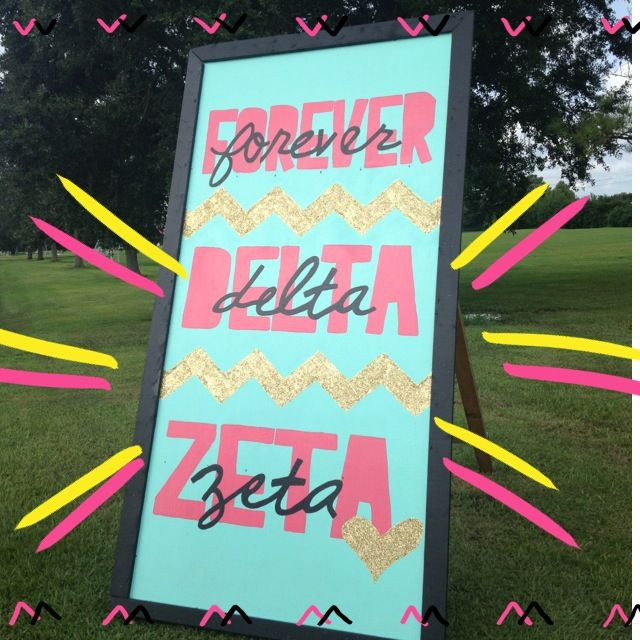 Delta Handwerk  Die besten 25 Delta zeta Ideen auf Pinterest
