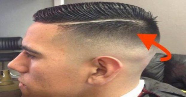 Deutscher Haarschnitt  Hunderte junge Menschen tragen gerade sen Haarschnitt