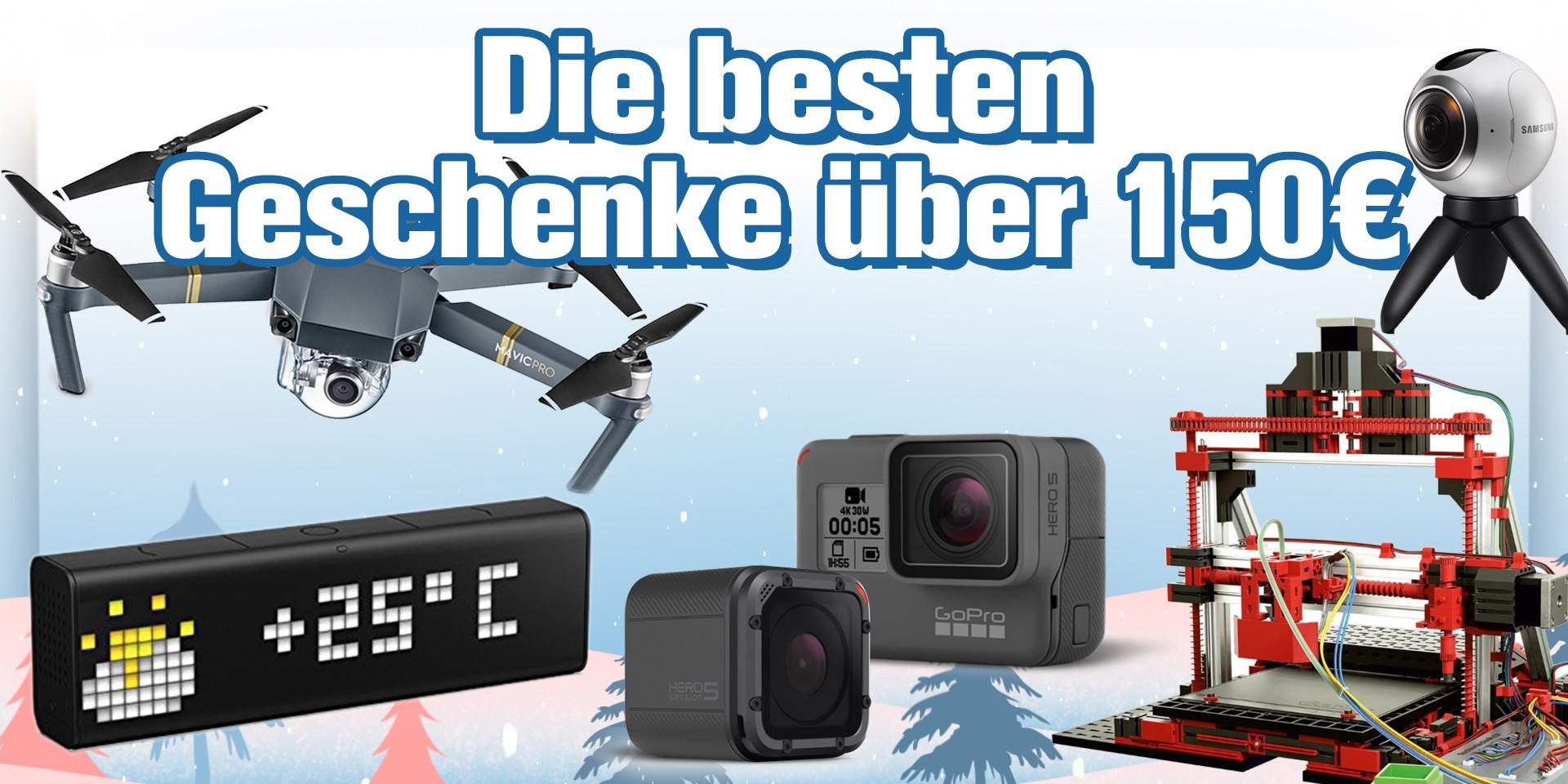 Die Besten Geschenke  Die besten Technik Geschenke über 150 Euro PC WELT
