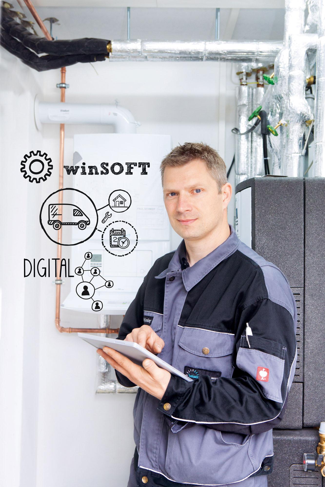 Digitalisierung Handwerk  Digitalisierung im Handwerk