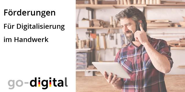 Digitalisierung Handwerk  Förderung für Digitalisierung im Handwerk energieheld Blog
