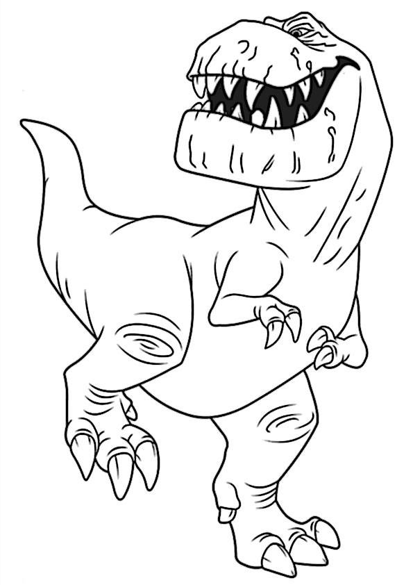 Dino Malvorlagen  der gute dinosaurier 4